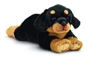 "Bearington Gunner Rottweiler Plush Stuffed Animal Puppy Dog 15"""