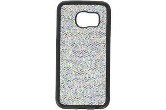 (Glamor Silver) - Dream Wireless Carrying Case for Samsung Galaxy S6 Edge - Retail Packaging - Glamour Silver