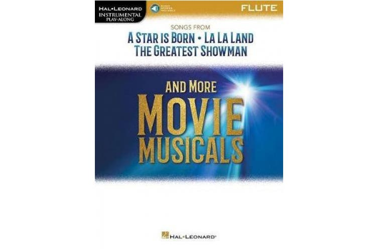INSTRUMENTAL PLAYALONG SONGS FROM MOVIE MUSICALS FLT BK/AUDIO