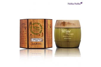 (White Wine) - Holika Holika Wine Therapy Sleeping Mask, White Wine, 120ml