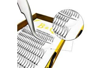 (3D-D-0.10 mm, 14 mm) - Premade Volume Eyelash Extensions 3D 4D Long Stem Premade Volume Fans C curl D curl 0.07 0.10 Russian Volume Eyelash Extensions 8-15mm Length B & Q Lash (3D-D-0.10 mm, 14 mm)