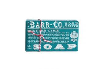 Barr-co. Soap Shop 180ml Spanish Lime Bar Soap by The Barr-Co.
