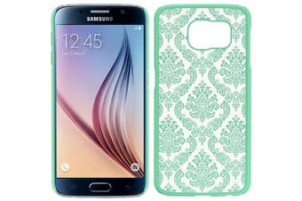 (Lace Teal) - Dream Wireless Carrying Case for Samsung Galaxy S6 - Retail Packaging - Lace Teal