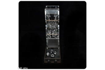 Cthulhu Etched Dice Tower from C4Labs for Lovecraft Fans - Black