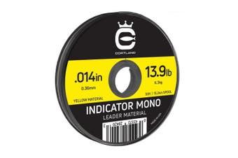 (.36cm  / 6.3kg, Yellow) - Cortland Indicator Mono