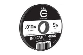 (.23cm  / 3.6kg, White) - Cortland Indicator Mono