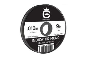 (.30cm  / 5.4kg, White) - Cortland Indicator Mono