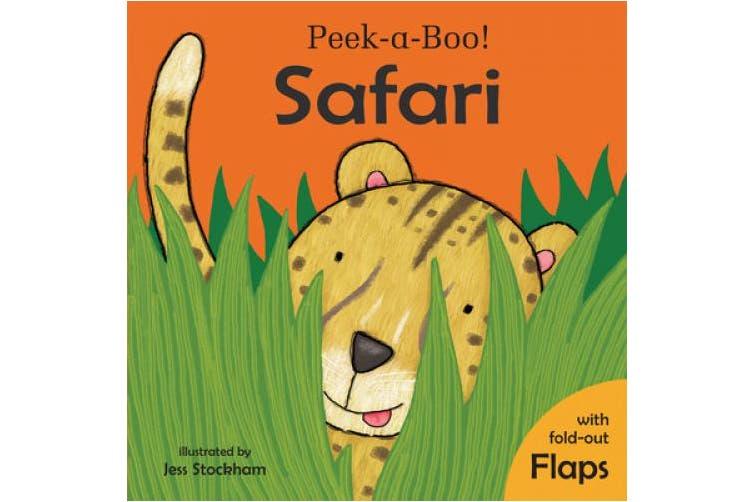 Peekaboo- Safari (Child's Play Library) [Board book]
