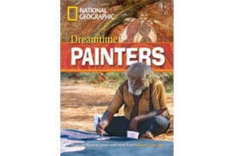 Dreamtime Painters + Book with Multi-ROM: Footprint Reading Library 800