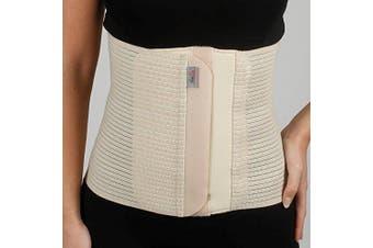 (S, Black) - Armo Line Abdominal Binder Post Pregnancy Belly Wrap Postpartum Post-op Support (S, Black)