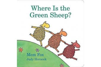 Where Is the Green Sheep? [Board book]