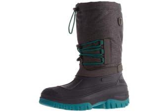 (3 UK, Grey (Asphalt Mel. U874)) - CMP Unisex Adults' Ahto Boating Shoes