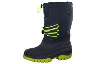 (2.5 UK, Blue (Black Blue N950)) - CMP Adults' Ahto Boating Shoes