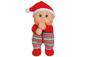 Cabbage Patch Cuties Berry Holiday 23cm Soft Body Baby Doll - Holiday Helper Collection