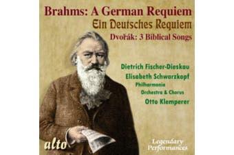 Brahms: A German requiem/Dvorák: 3 biblical songs