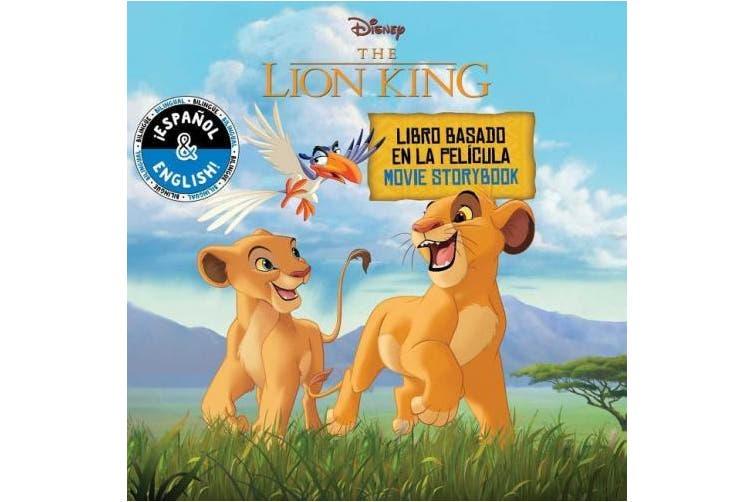 Disney the Lion King: Movie Storybook / Libro Basado En La Pelicula (English-Spanish), Volume 20 (Disney Bilingual)