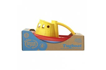 (yellowtop) - Green Toys 1203876 Green Toys Tugboat with Yellow top