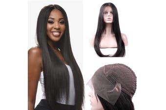 (41cm ) - LSY Hair Brazilian Straight Hair Lace Front Wigs For Black Women Human Hair With Baby Hair 13×4 Lace Front Wigs 150% Density 100% Unprocessed Virgin Human Hair (41cm )