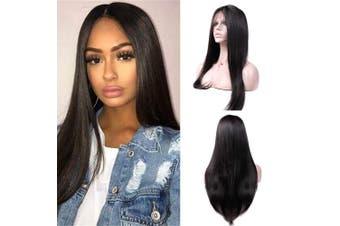 (60cm ) - LSY Hair Brazilian Straight Hair Lace Front Wigs For Black Women Human Hair With Baby Hair 13×4 Lace Front Wigs 150% Density 100% Unprocessed Virgin Human Hair (60cm )