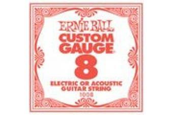 Ernie Ball Plain .008 Single String