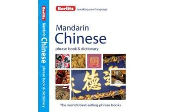 Berlitz: Mandarin Chinese Phrase Book & Dictionary (Berlitz Phrasebooks)