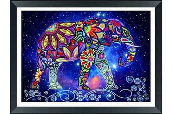 (Elephant) - Elephant 5D Diamond Painting Animal Cross Stitch Crystal Embroidery Special-shapedRhinestones Craft Home Decor Craft