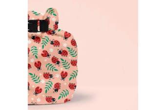 (loveable ladybug) - Bambino Mio, wet bag, loveable ladybug