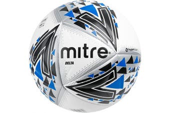 (Delta, Size 4, White, Without Ball Pump) - Mitre Delta Professional Football