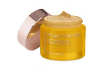 (Full (50ml/52g), Juicy Mango) - Josie Maran Whipped Mud Mask Argan - Detoxifying Treatment Rejuvenates and Tones Your Skin with Essential Nutrients (52g50ml, Juicy Mango)