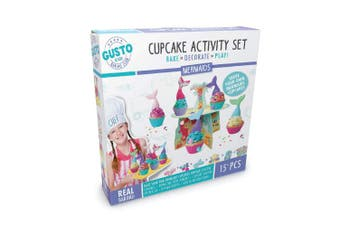 Gusto Mermaids Mermaids Cupcake Activity Set