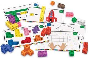(Mathlink Cube Activity Set, Mathlink Cubes) - Learning Resources Mathlink Cube Activity Set