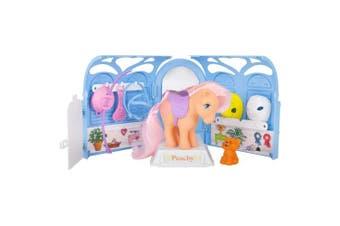 My Little Pony 35235 Retro Pretty Parlour Playset, Includes Peachy, Multicolour