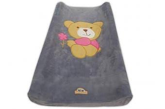 (gray bear) - BlueSnail Ultra Soft Changing Pad Cover (Grey Bear)
