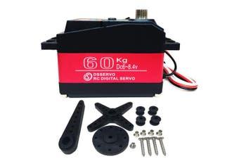 (270 Degrees) - ANNIMOS 60KG Super Servo 8.4V High Voltage Stainless Steel Gear Large Torque High Speed Waterproof Digital Baja Servos - 270 Degrees