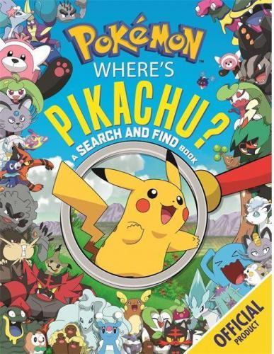 Where's Pikachu? A Search and Find Book: Official Pokemon (Pokemon) Enter the exciting world of Pokemon in Pikachu's ultimate Search and Find. Look for all your favourite Pokemon characters as you travel around the regions. There are Ice-type Pokemon on the cold, snowy mountains and Rock-type Pokemon in Alolan caves. Plus,there's a Pikachu to spot in ever scene!Will you catch 'em all?  About the Author Pokemon is one of the most popular and successful entertainment franchises in the world, encompassing video games, the Pokemon Trading Card Game (TCG), mobile games and apps, animation and movies, Play! Pokemon competitive events, and licensed products. It was first established in Japan in 1996 with the launch of the Pokemon Red and Pokemon Green video games for the Game Boy  system. The video games were released internationally in 1998 as Pokemon Red and Pokemon Blue. More than 20 years later, Pokemon continues to be a global entertainment mainstay and pop culture icon.
