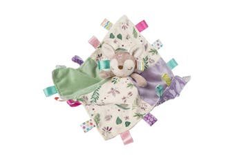 Taggies Soothing Sensory Stuffed Animal Security Blanket, Flora Fawn, 30cm x 30cm