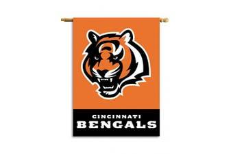(Cincinnati Bengals) - Fremont Die NFL 2-Sided House Banner, 70cm x 100cm
