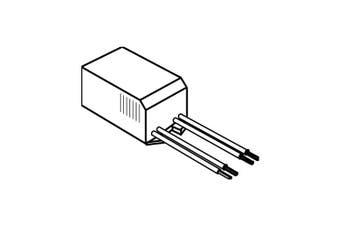 Elco ETR75 75VA/12V/60Hz Electronic Transformer