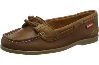 (7  (40 EU), Brown (Brown 001)) - Chatham Women's Harper Boat Shoes