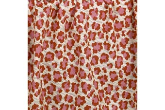 Cotton Tale Designs Here Kitty Animal Print Fabric, Pink
