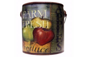 (590ml, Multicolor) - A Cheerful Giver Juicy Apple Farm Fresh Candle, 590ml