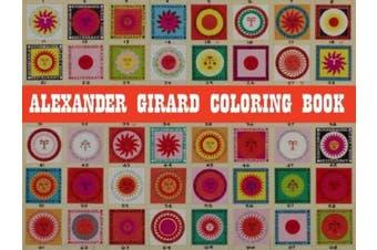 Alexander Girard Coloring Book