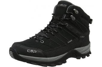 (10 UK, Black Black Grey 73uc) - CMP – F.lli Campagnolo Men's Rigel Mid High Rise Hiking Boots