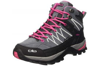(6.5 UK, Grau (Grey-fuxia-ice 103q)) - CMP Women's Rigel Mid High Rise Hiking Shoes