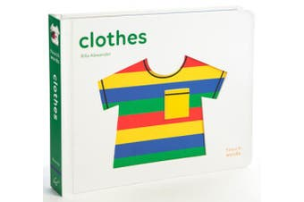 TouchWords: Clothes [Board book]