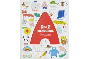 A to Z Menagerie [Board book]