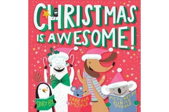 Christmas Is Awesome! (A Hello!Lucky Book) [Board book]