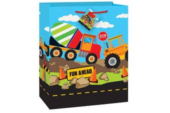 (Gift Bag) - Unique Party 52152 - Construction Party Gift Bag