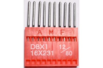 (DBX1 80/11.4lY 100) - SFG AMF Industrial Sewing Machine Needles Round Shank Universal Ball Point DBX1 80/11.4ly 100