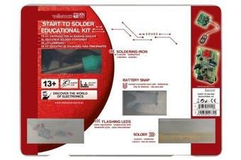 Velleman EDU03U Start To Solder Educational Kit (Usa Version)